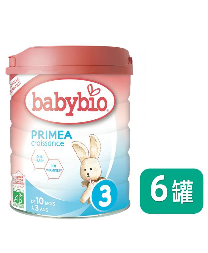 Babybio 伴宝乐 3段 标准型 800G*6罐