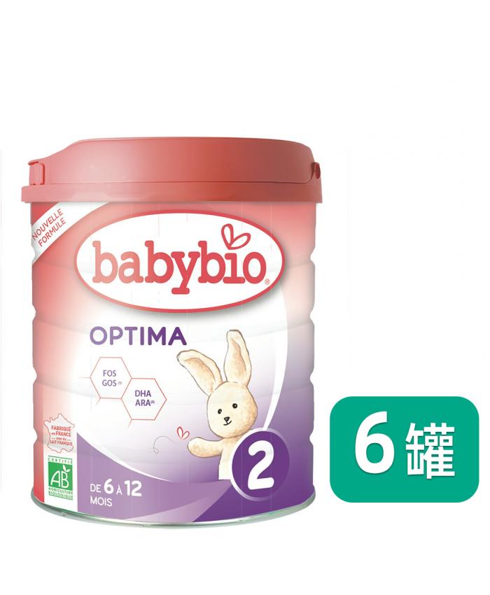 Babybio 伴宝乐 2段 近母乳型 800G*6罐