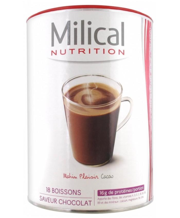 MILICAL 法国优质高蛋白饮料 可可口味 540g
