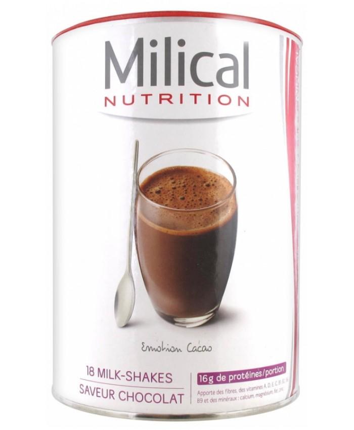 MILICAL 法国优质高蛋白代餐奶昔 可可口味 540g