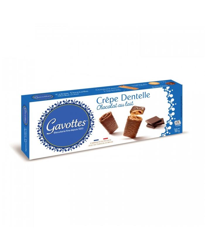 GAVOTTES 法国本土 特色零食 可丽饼 可丽卷 90g