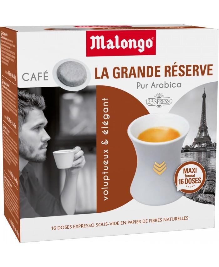dosettes pur arabica MALONGO 咖啡 3盒