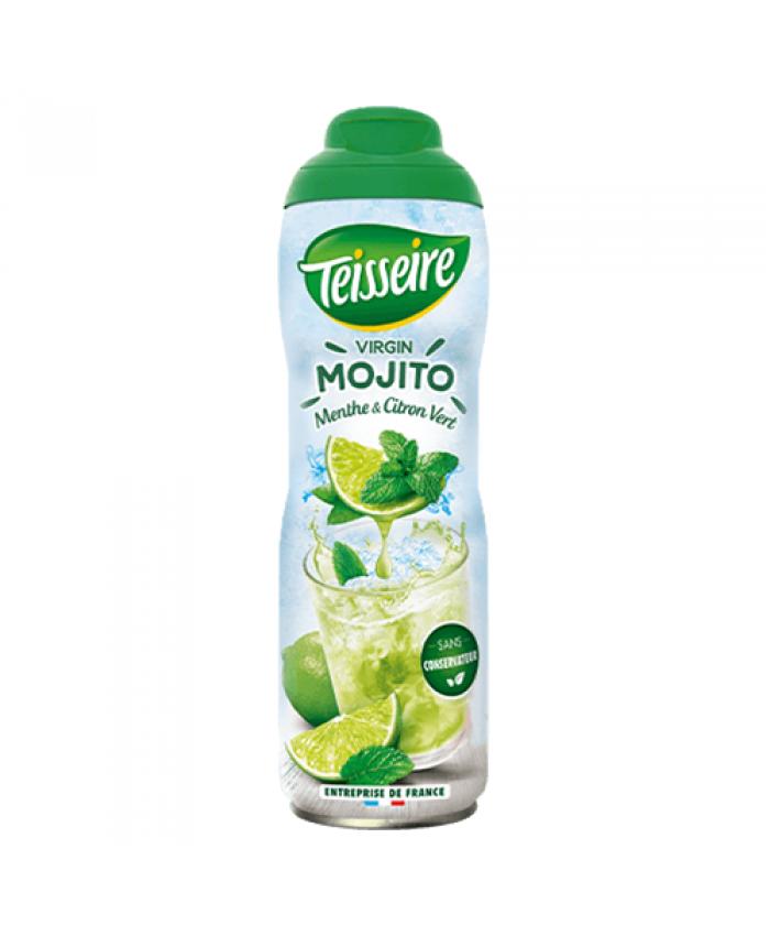 法国 Teisseire 果露 天然浓缩果汁 Mojito 鸡尾酒口味糖浆 600ml 可冲5400ml果汁
