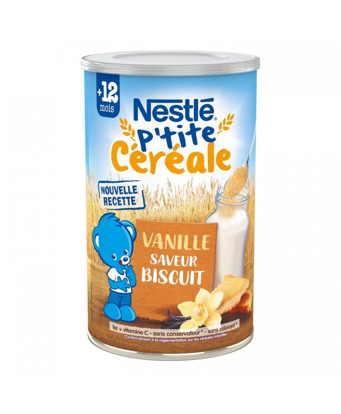 Nestle 雀巢 钙铁锌多种谷物香草饼干口味谷物米粉12m+ 400g