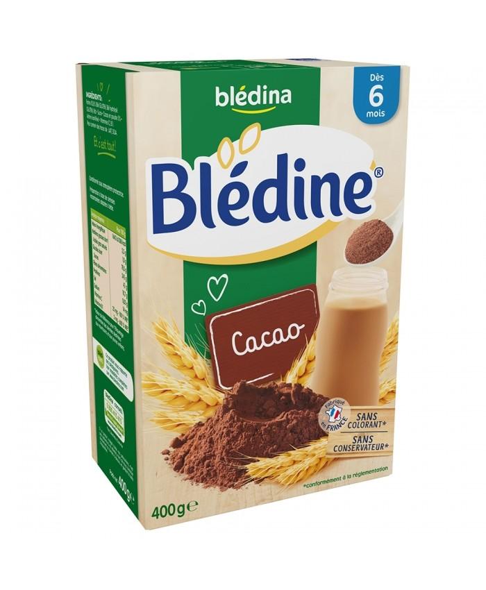BLedine 达能贝乐蒂 可可口味谷物米粉6m+ 400g